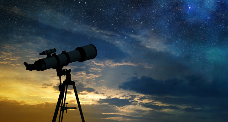 [Main Media] [Fund Focus] [CSC PSC] Stargazing telescope